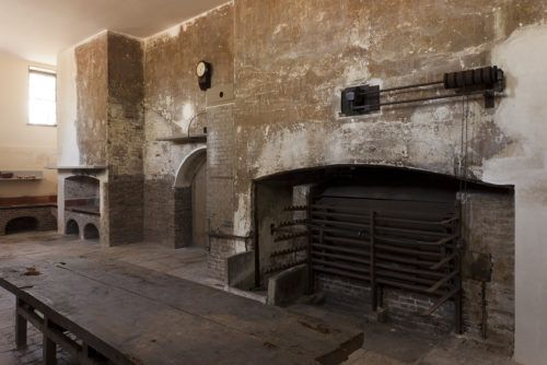 The Great Kitchen in the Royal Kitchens at Kew (Credit Forster_HRP)