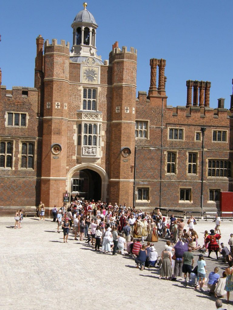 Martin Ashley Architects Hampton Court Palace Base Court